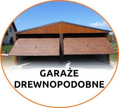 Garaże drewnopodobne