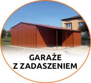 Garaże z zadaszeniami